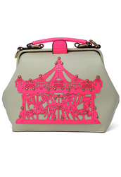 bag,merry-go-round,doctor bag,neon pink