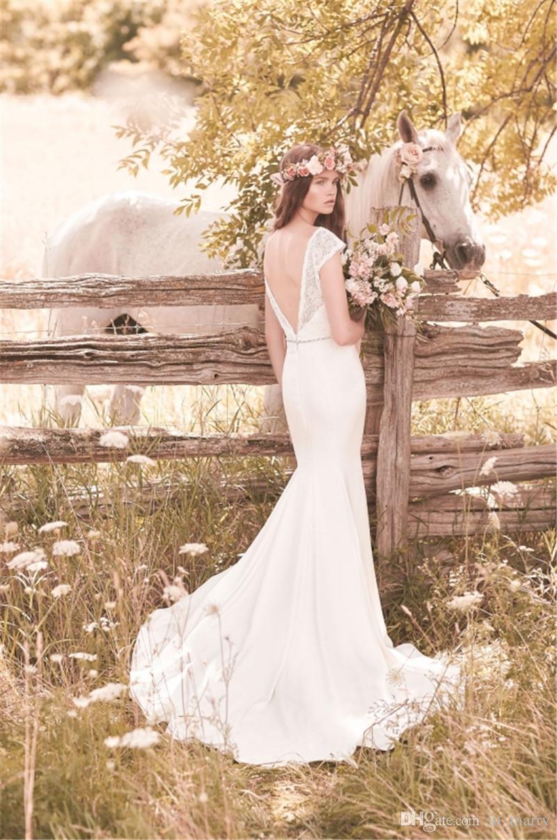 dress, mikaella bridal 2057, backless wedding dress, vintage lace ...