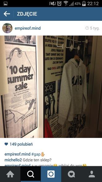 sweater gap gap hoodie help grey light love hipster hoodie hoodie sweater long sleeves shirt