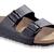 Arizona  Black Birko-Flor Sandals | Birkenstock USA Official Site