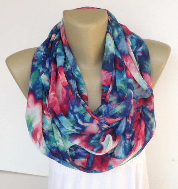 abstract scarf women scarf summer fashion by senoAccessory on Etsy