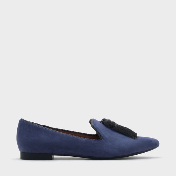 tassel loafers navy shoes