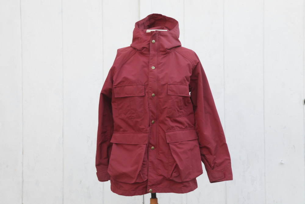 Vintage Womens Medium LL Bean Parka Maroon