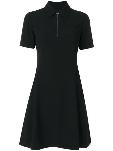Kenzo dress flare women fit black