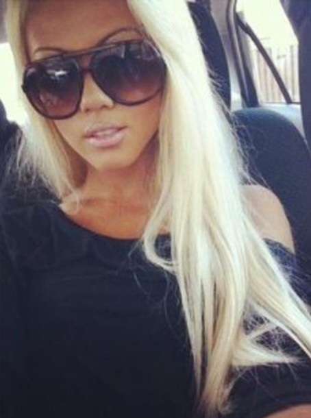 hair accessory white blond hair extensions platinum blonde curls platinum hair extensions sunglasses