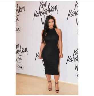 dress black dress kim kardashian dress kim kardashian kardashians