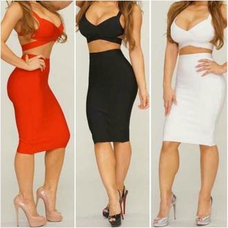 skirt bandage skirt bandage dress