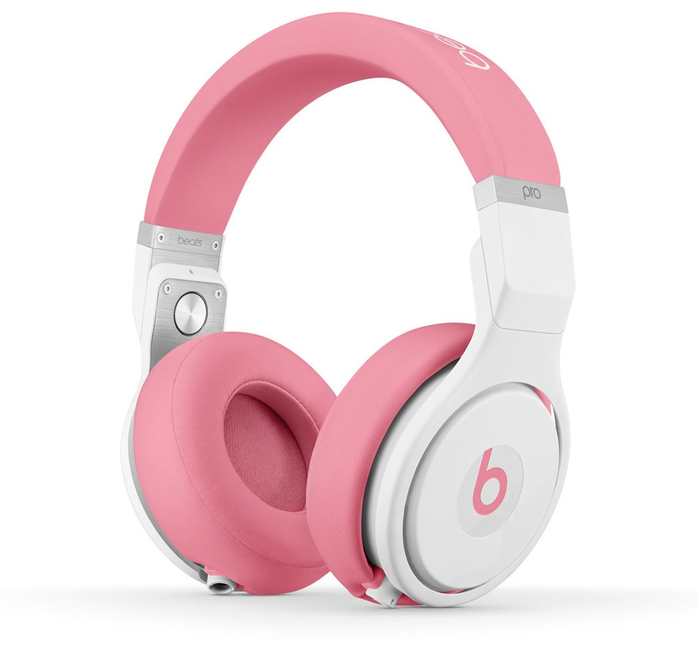 Beats by Dr. Dre Pro Nicki Pink High Performance Professional DJ Headphones