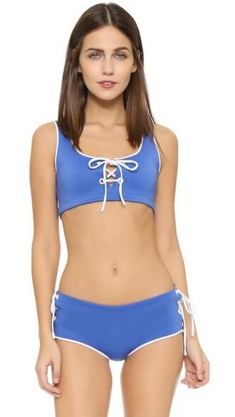 bikini bikini top lace swimwear
