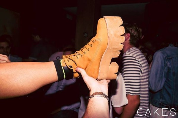 shoes australian clubwear boots mustard yellow lace up hipster world bar chunky shoes platform shoes flatforms