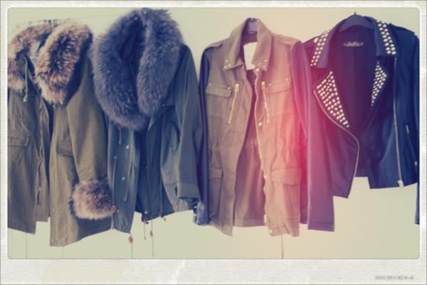 parka coat fur fur coat