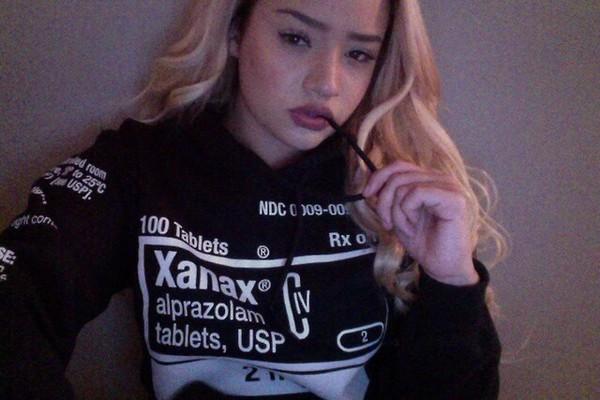 xanax alprazolam jacket hoodie black and white black hoodie