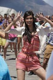 dress,tribal pattern,aztec,bright,jumpsuit,short