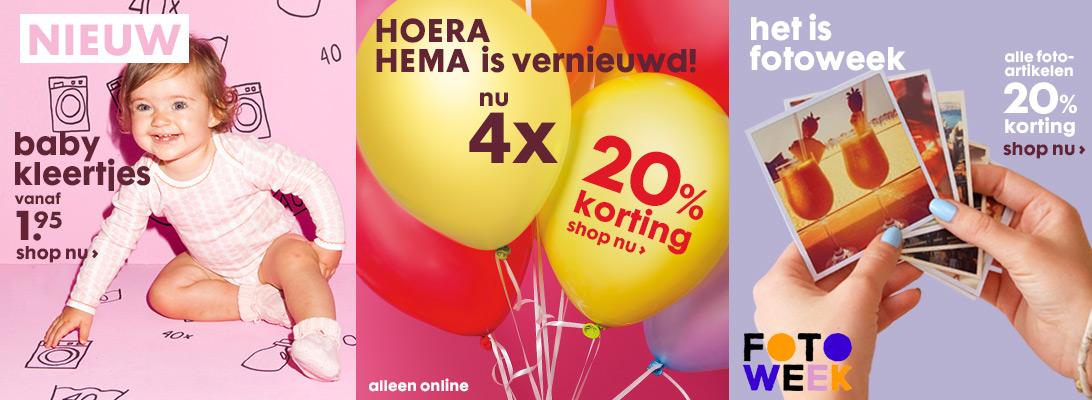 HEMA - verrassend lage prijzen in de online winkel
