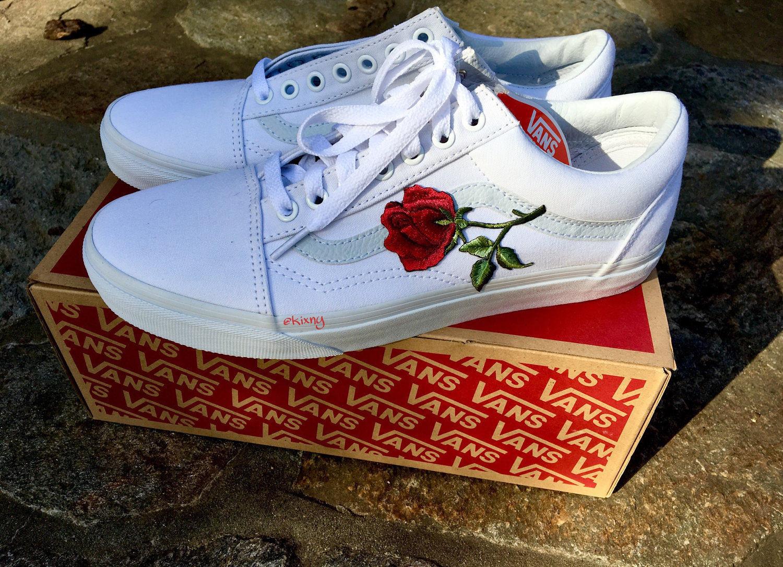 d47d57308f74 Roses Custom Vans