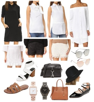 chicstreetstyle blogger dress top sunglasses shoes jewels shorts lace shorts mini shorts watch spring outfits white top