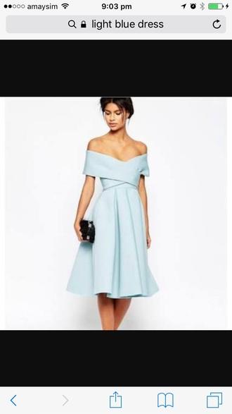 dress blue blue dress light blue cocktail dress