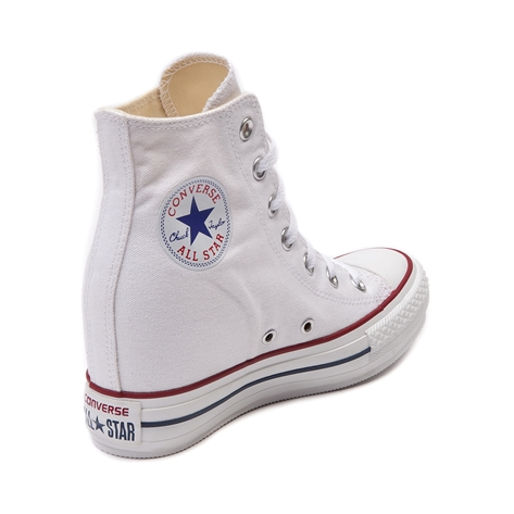 Converse chuck taylor wedge sneaker, white, at journeys shoes