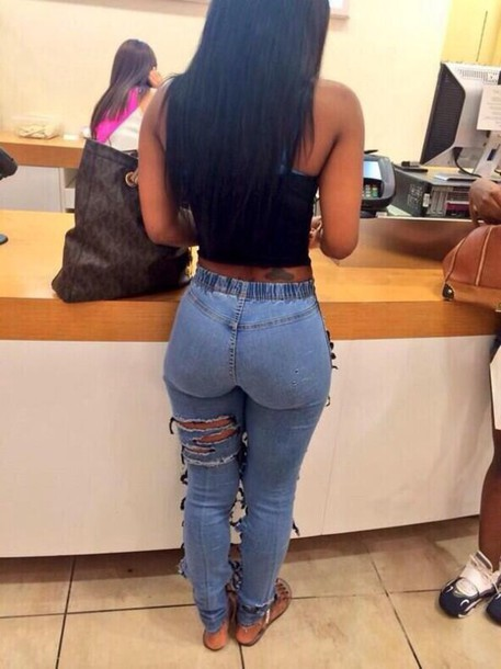 Big Ass In Jean 87