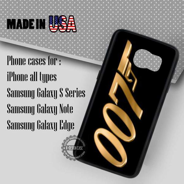 Samsung S7 Case - Gold, James Bond - iPhone Case #SamsungS7Case #movie #yn