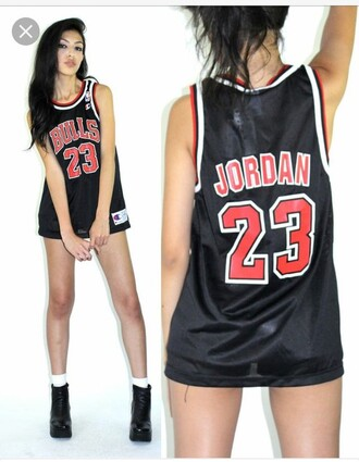 top chicago bulls 23 tank top basketball jersey number