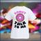 Donut talk to me tshirt white crewneck black logo unisex paris swag hipster t-shirt