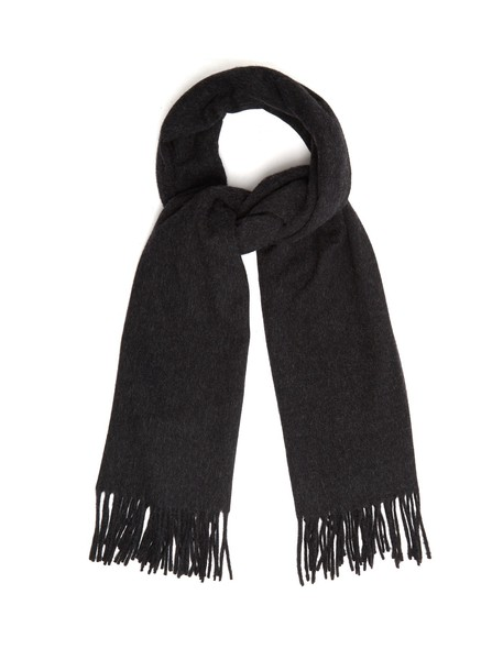 Acne Studios scarf wool black