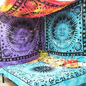 home accessory,sun moon tapestry,cheap tapesrty,multimatecollection,indian tapestry,wall tapestry,bohemian