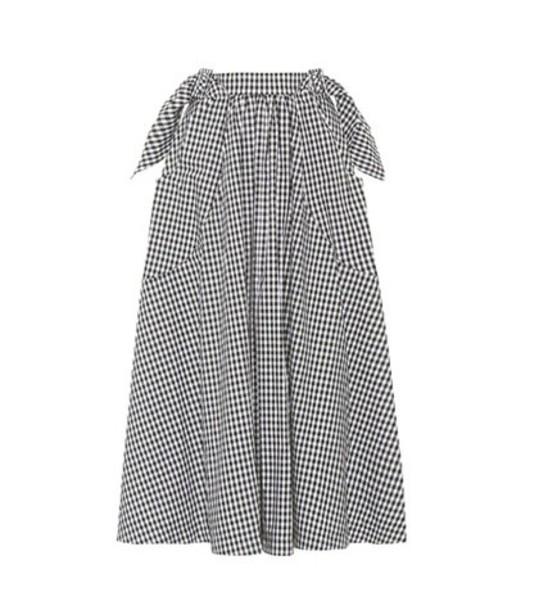 Rejina Pyo skirt daisy cotton black