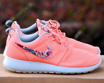 nike roshe peach flower New Nike Roshe Run
