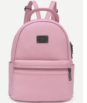 bag girl girly wishlist pink backpack back to school
