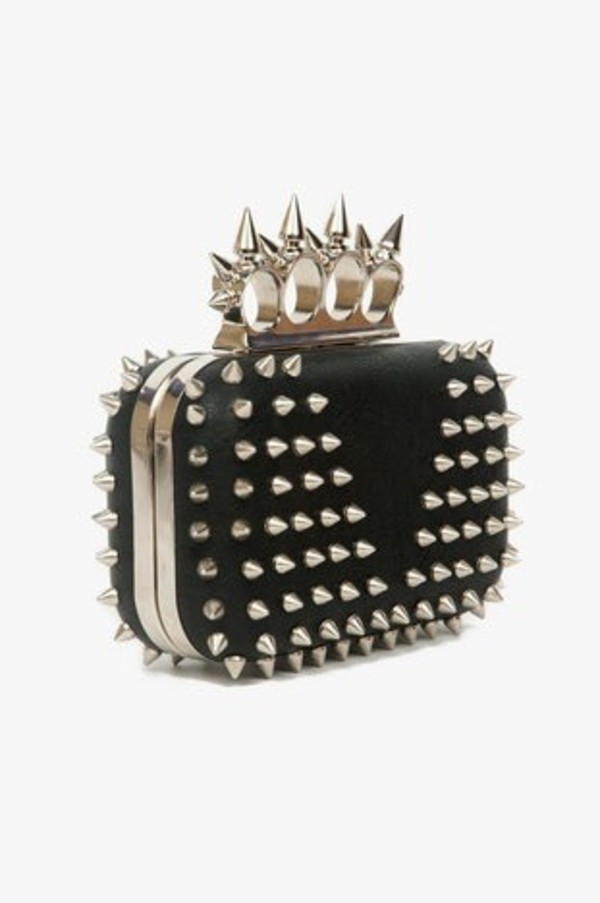 bag knuckle ring clutch spikes