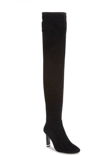 shoes thigh high boots