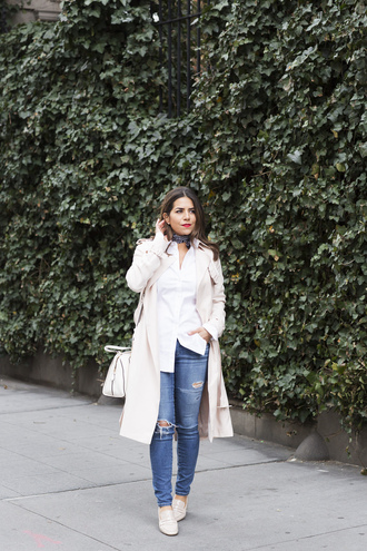 the corporate catwalk blogger scarf coat shoes bag shirt skirt pants leggings shorts sunglasses