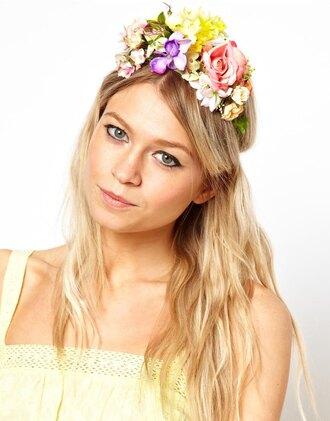 jewels flower crown limited edition summer garden hair garland accessories hair accessory