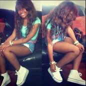 shoes,jayda,pretty,mixed,converse,platform shoes,amourjayda,instagram,High waisted shorts,shorts