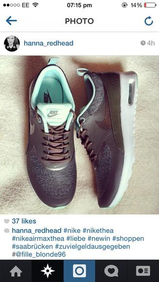 grey shoes black thea nike nike thea nike air