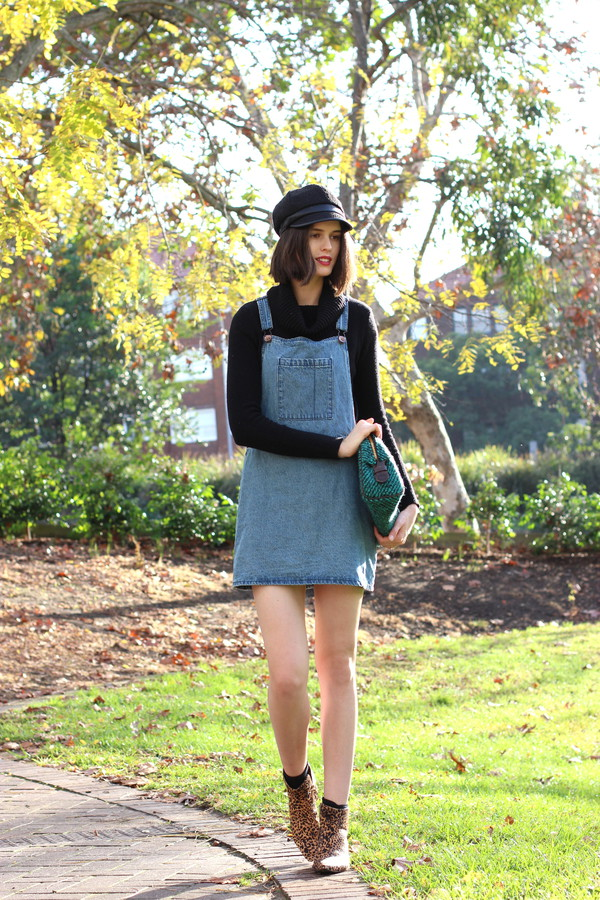 by chill sweater dress shoes bag hat