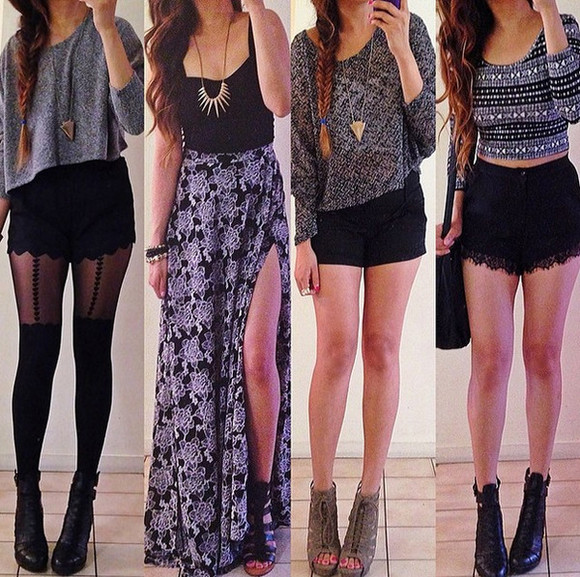 maxi skirt top print skirt