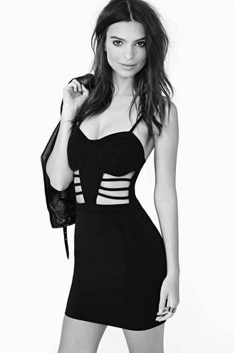 dress lbd little black dress cut out dress birthday dress