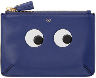 loose eyes pouch blue bag