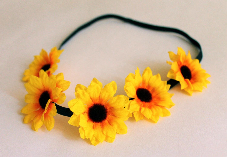 Sunflower Headband 5a91cbf671b