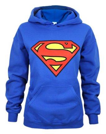 Amazon.com: official superman shield logo women's hoodie: clothing