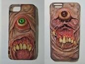 phone cover,teeth,eyes,weird,iphone case
