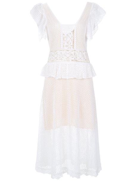 Cecilia Prado dress knitted dress women white
