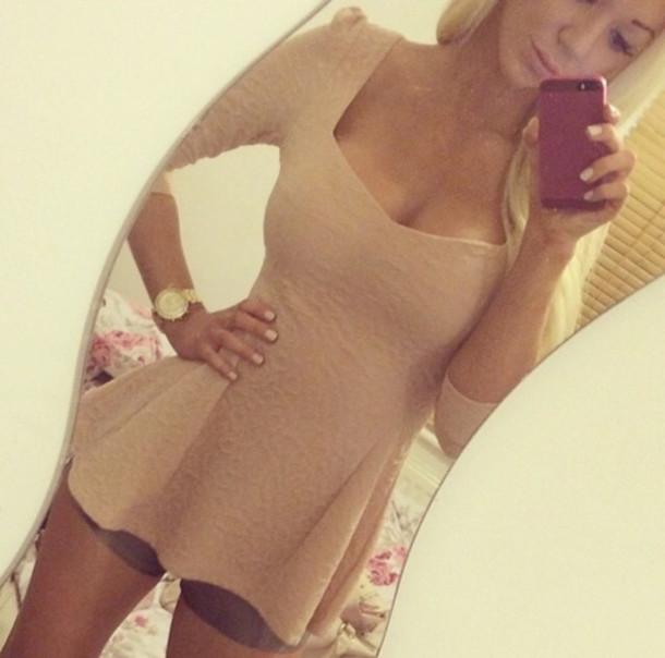 blouse peplum peplum top beige shirt top dress summer