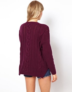 ASOS | ASOS Aran Jumper at ASOS