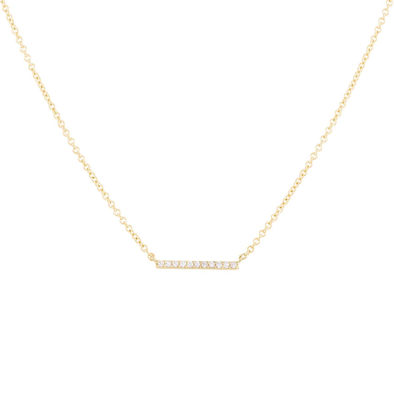 Diamonds Line Necklace