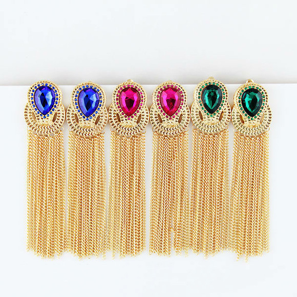 jewels earings gold earings drop earrings