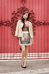 kryzuy,sweater,tank top,skirt,jewels,shoes,embroidered skirt